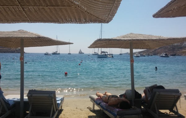 Mykonos – Ornos Beach