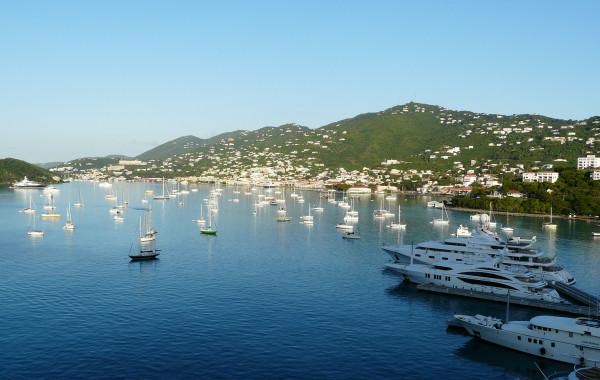 Port in St. Thomas